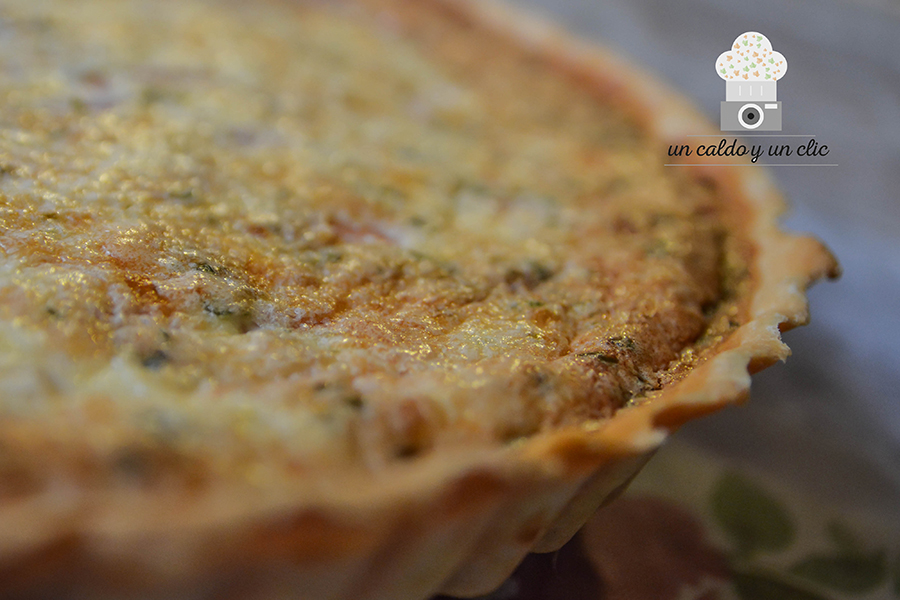 quiche de beicon y queso-